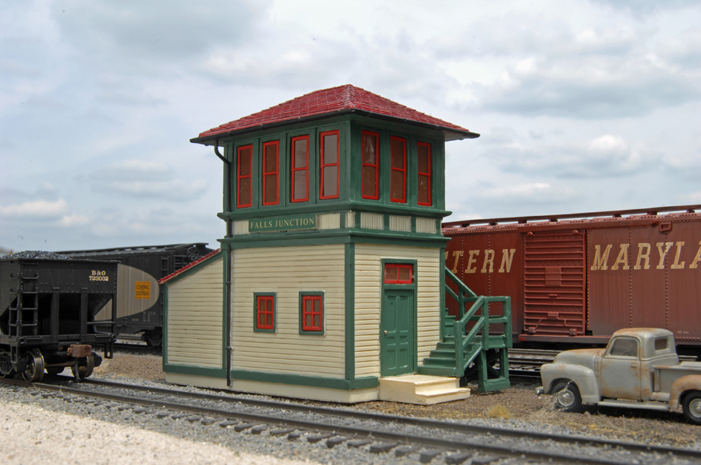 Falls Junction Switch Tower (HO Scale)