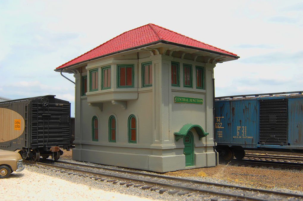 Central Junction Switch Tower (HO Scale)