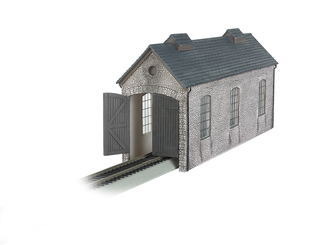 Engine Shed (HO Scale)