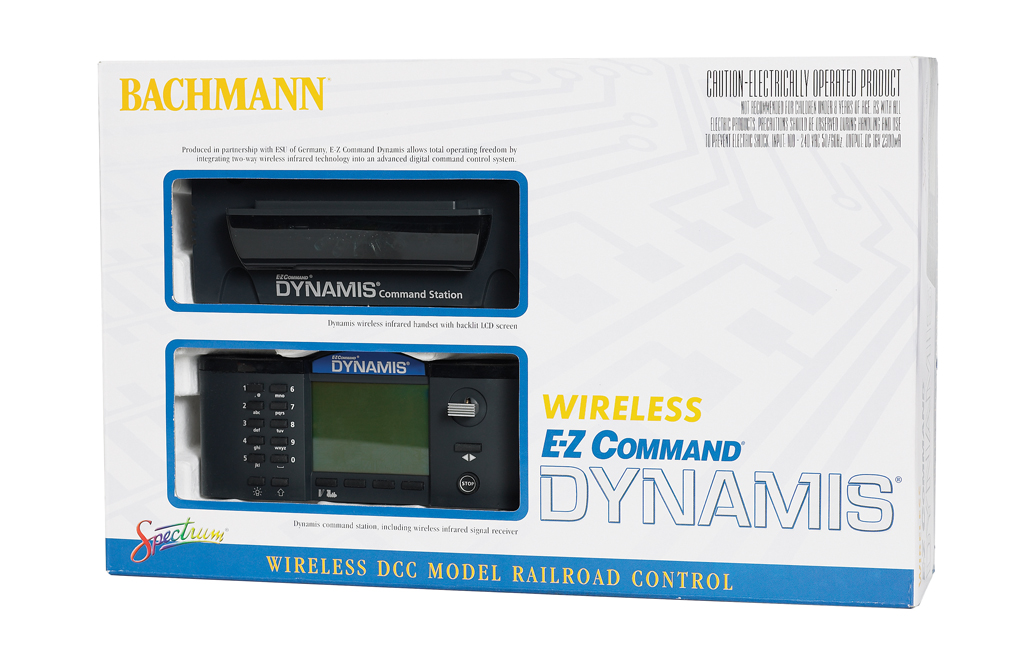 E-Z Command® Dynamis® Wireless Infrared DCC System