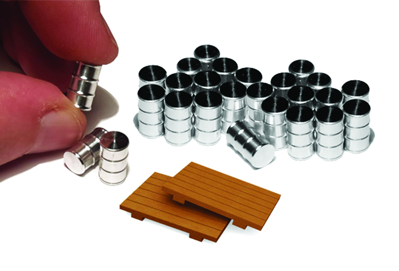 Oil Drums - Kit (24 per Pack) (HO Scale)