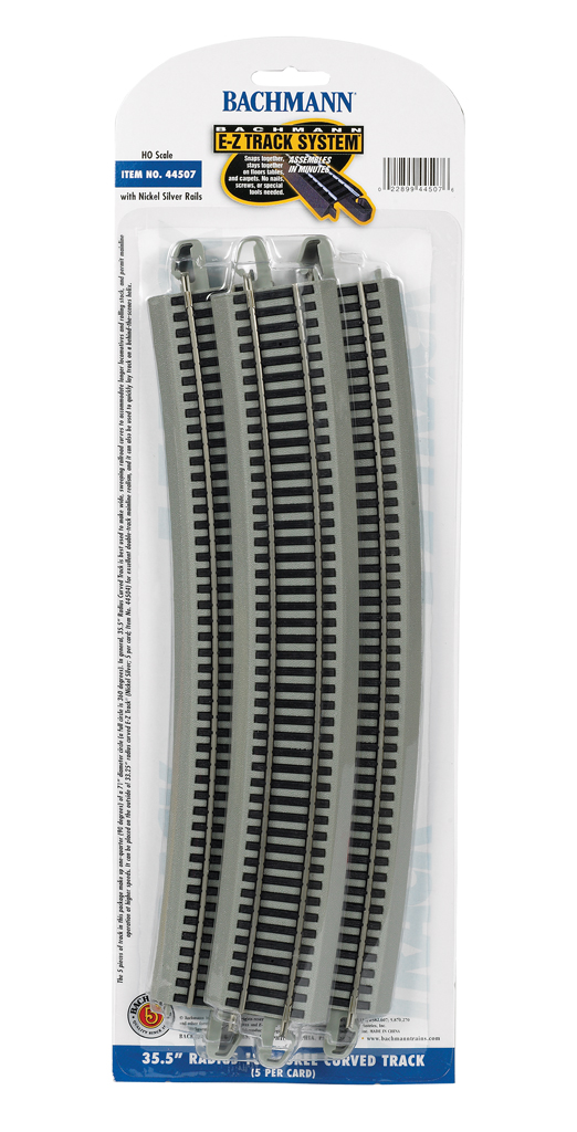 "35.50"" Radius 18 Degree Curved (HO Scale)"