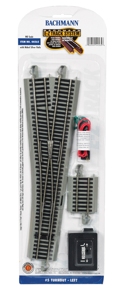 #5 Turnout - Left (HO Scale)