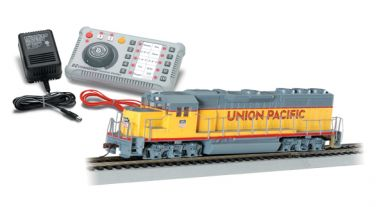E-Z Command ® DCC System with DCC-Equipped Diesel Locomotive HO
