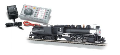 E-Z Command ® DCC System with DCC-Equipped Steam Locomotive HO