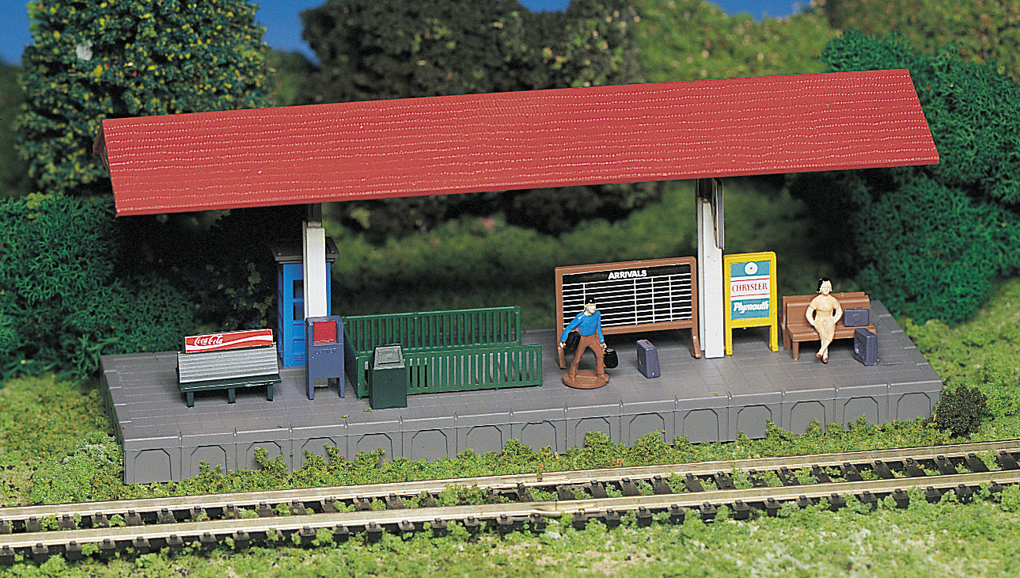 Platform Station (HO Scale)
