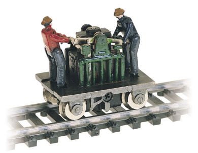 Gandy Dancer Operating Hand Car (HO Scale)