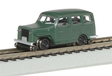 High Railer 1950s 4 x 4 (HO Scale)