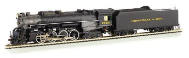 Chesapeake & Ohio® Kanawha #2724 - 2-8-4 Berkshire