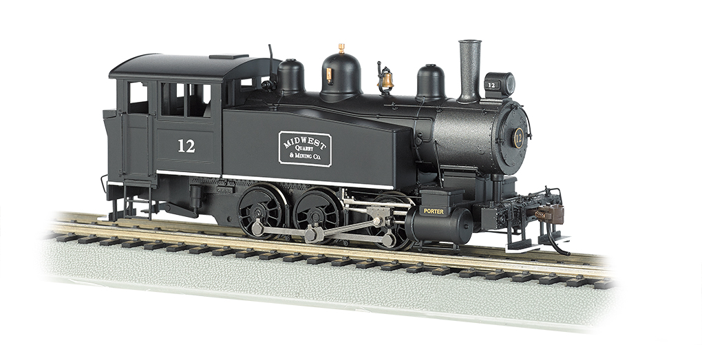 0-6-0 Porter Side Tank-Midwest Quarry&Mining CO #12-DCC(HO Scale