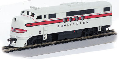 Burlington - FT-A Unit - DCC