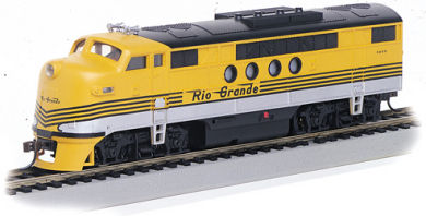 Denver & Rio Grande Western™ - FT-A Unit - DCC