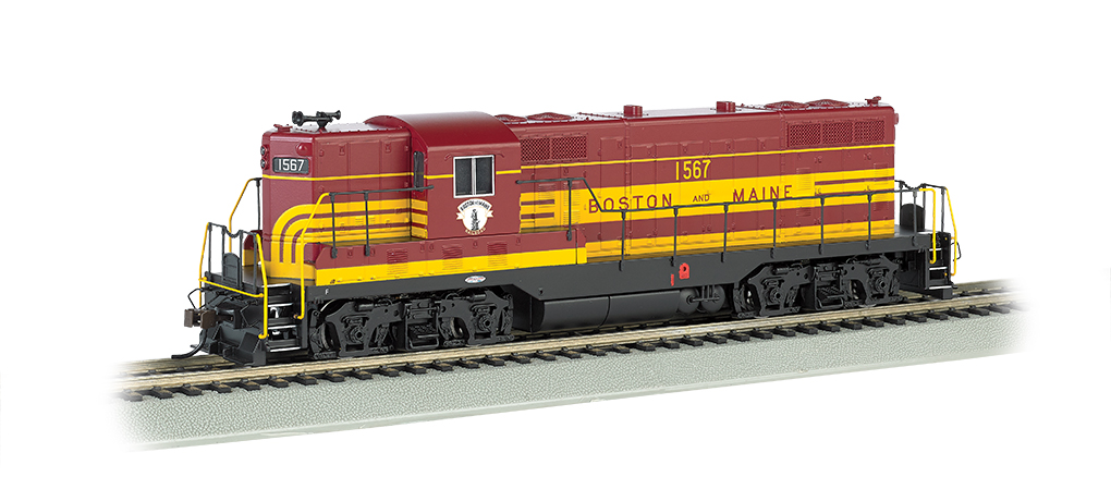 Boston & Maine #1567 Maroon - GP7 - DCC(HO Scale)