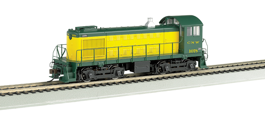C&NW #1078 - ALCO S4 - DCC Sound Value (HO Scale)
