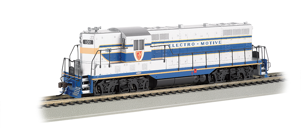 GM Demonstrator #100 - GP7 - DCC Sound Value (HO Scale)