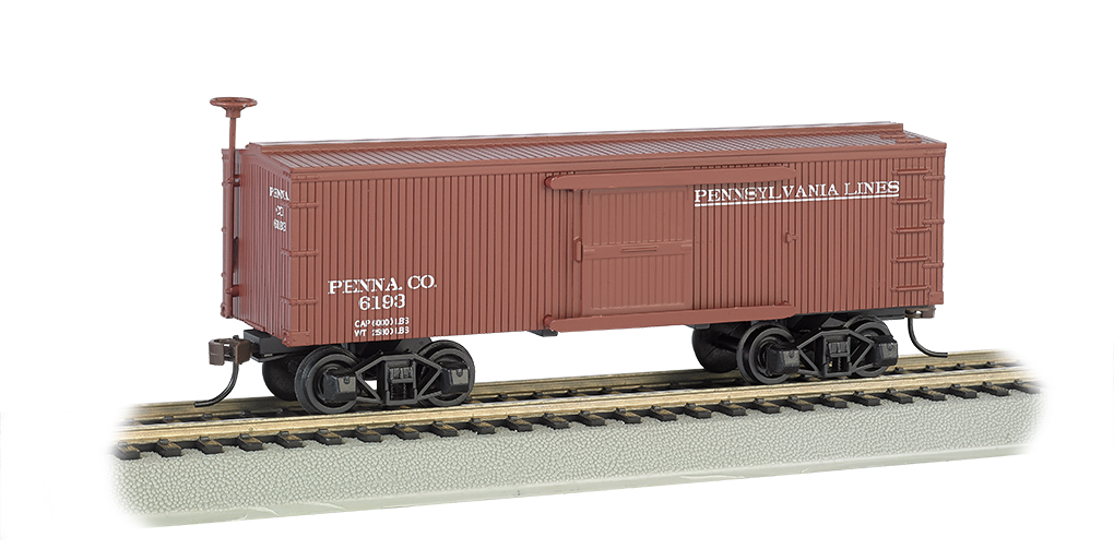 Pennsylvania Lines - Old-time Box Car (HO Scale)