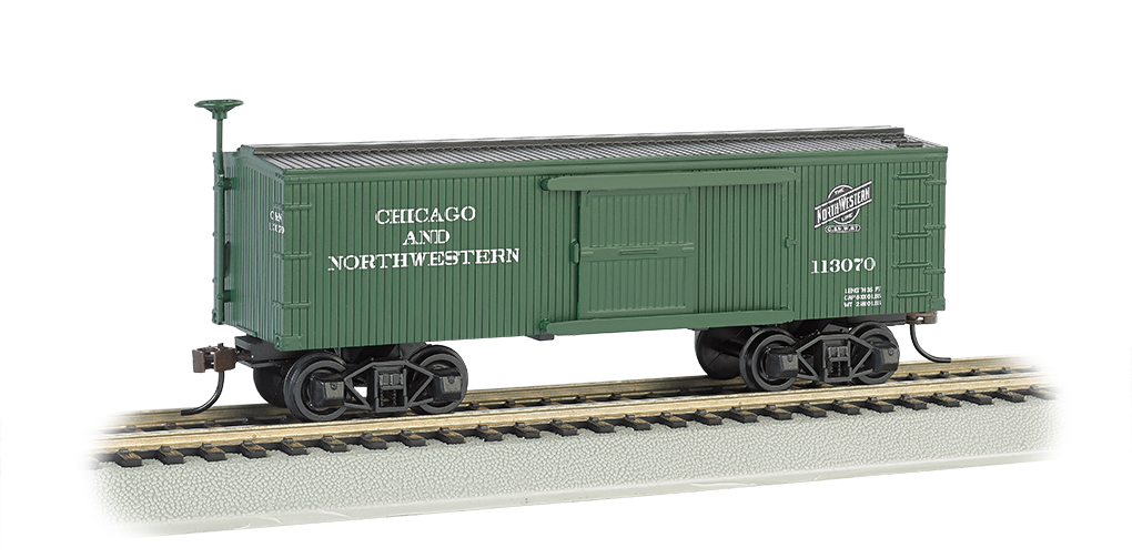Chicago & North Western® - Old-time Box Car (HO Scale)