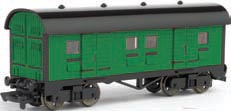 Mail Car - Green (HO Scale)