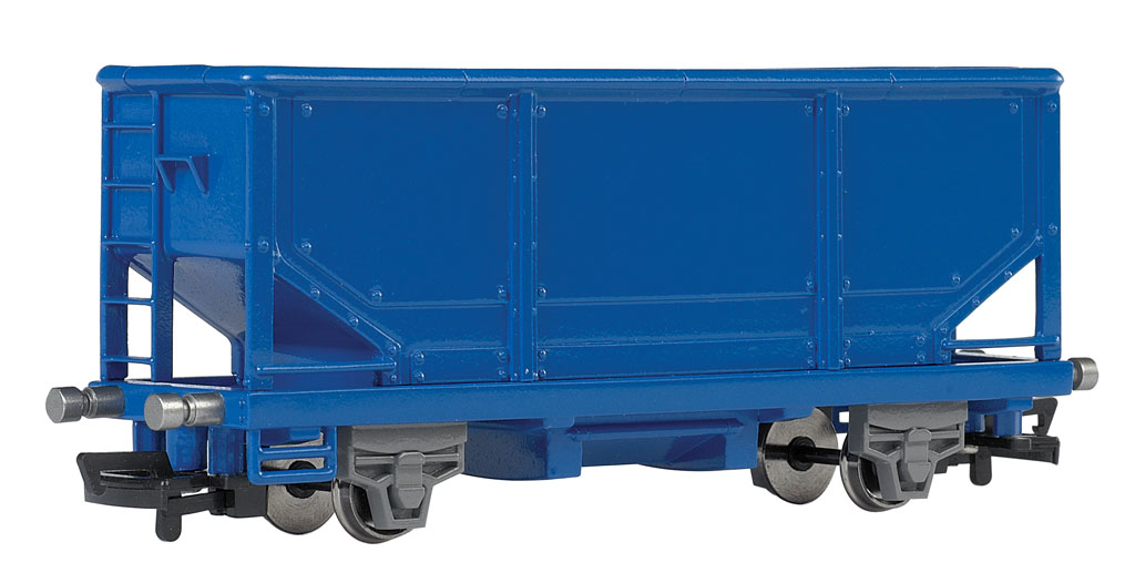 HOPPER CAR - BLUE (HO Scale)