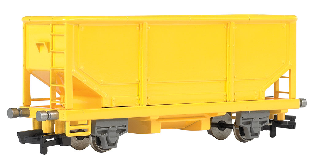 HOPPER CAR - YELLOW (HO Scale)