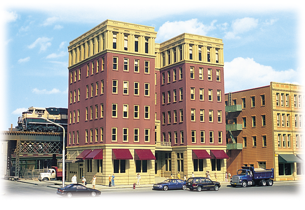 Ambassador Hotel - Cityscenes™ Building Kit (HO Scale)