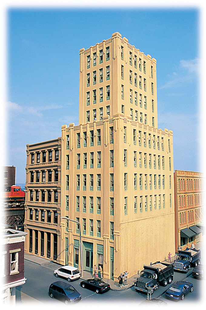 Metropolitan Building - Cityscenes™ Building Kit (HO Scale)