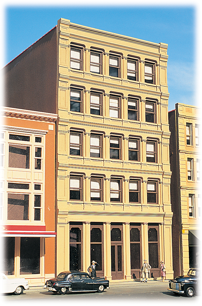 Savings & Loan - Cityscenes™ Building Kit (HO Scale)