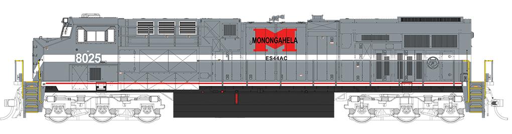Monongahela - NS Heritage - GE ES44AC - DCC Sound Value (HO