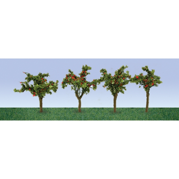 "APPLE SAPLINGS 1""~3/8"", HO-SCALE, 12/PK"