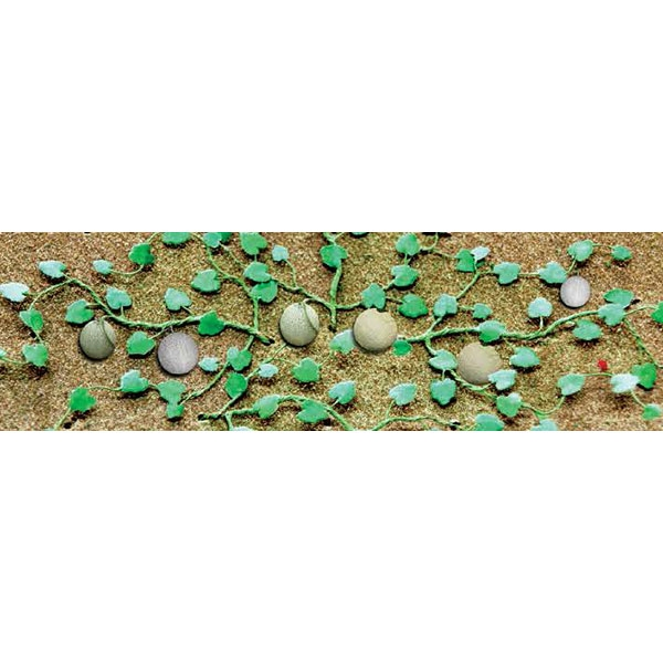"CANTALOUPE PATCH, 1 3/4"" Long, HO Scale, 6/pk."