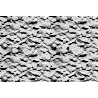PATTERN SHEETS, Rock Embankments, HO-scale (1:100) 2/pk