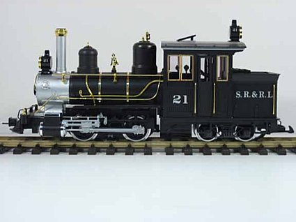 LGB 21251 Sandy River & Rangeley Lakes 4-4-0 Forney Steam Loco
