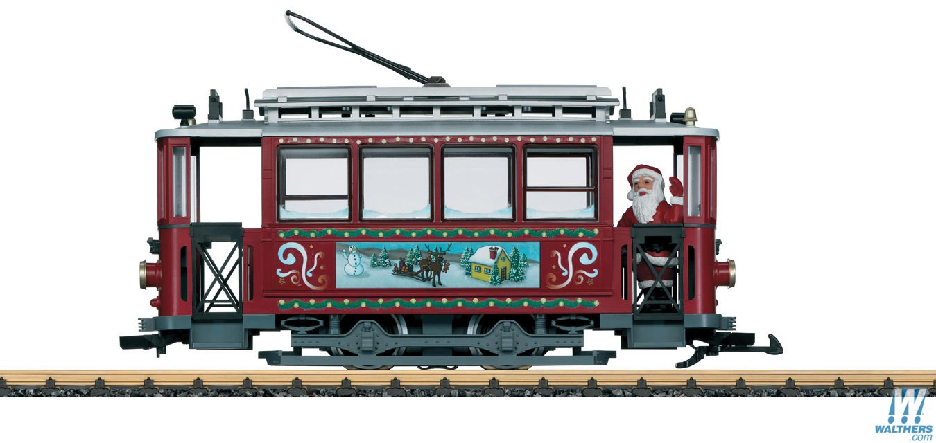 LGB 72351 Christmas Trolley Starter Set