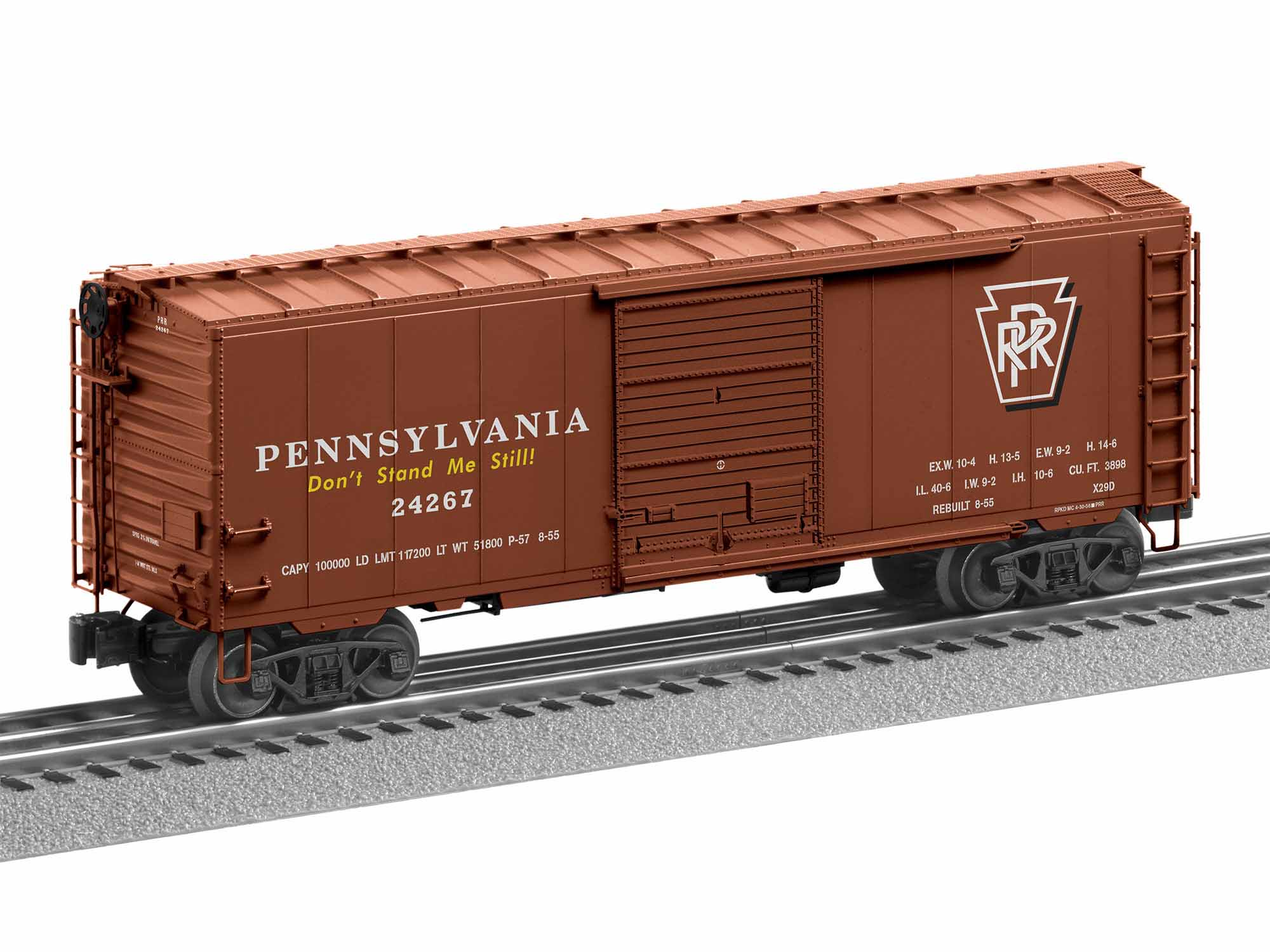 1926640 PENNSYLVANIA FREIGHTSOUNDS PS-1 BOXCAR #24267