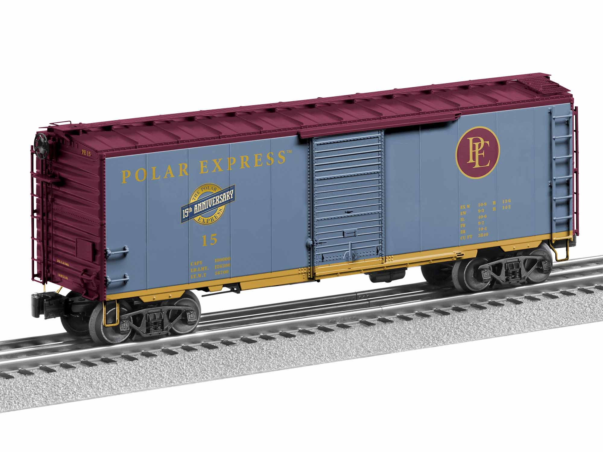 1926820 THE POLAR EXPRESS 15TH ANNIVERSARY BOXCAR #15