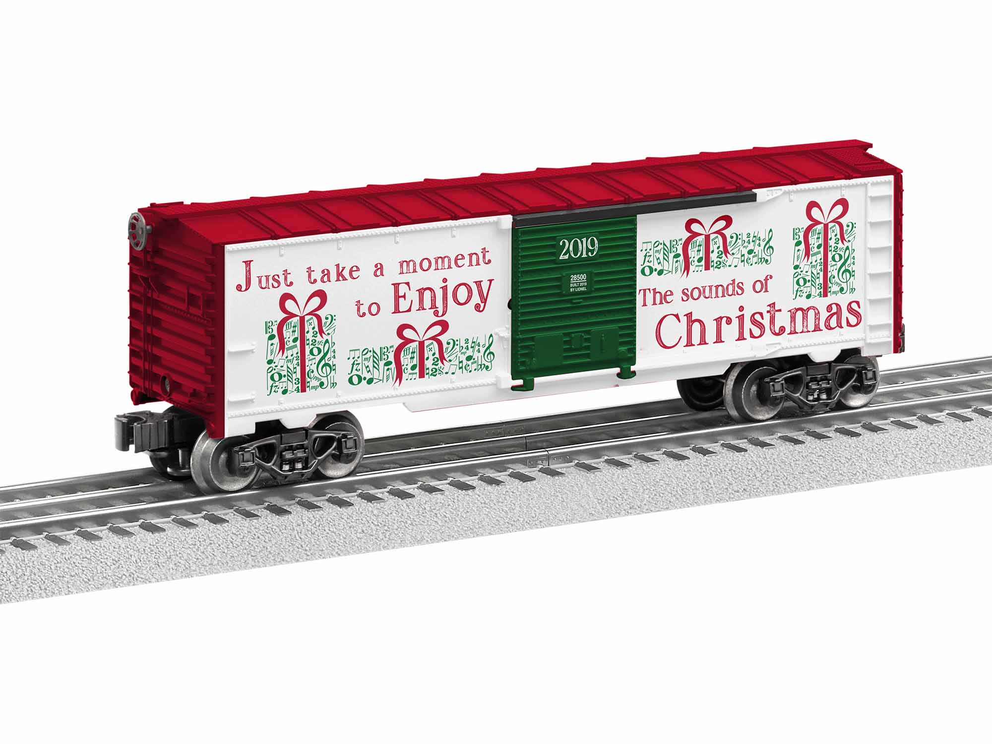 1928500 CHRISTMAS MUSIC BOXCAR #19