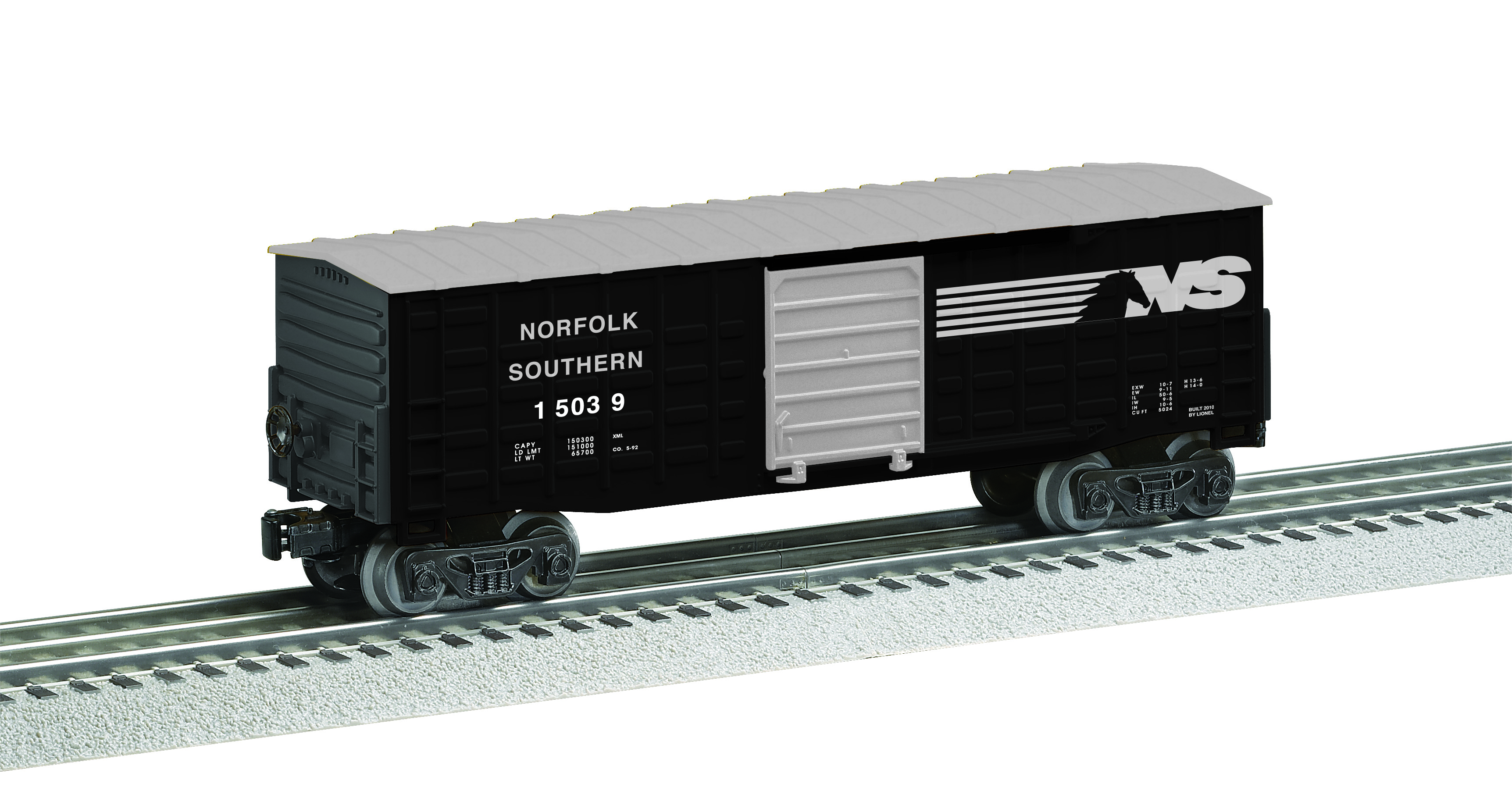 6-15039 NORFOLK SOUTHERN WAFFLED-SIDE BOXCAR