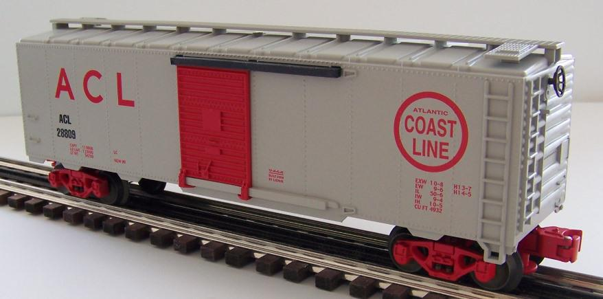 6-17257 Box Car, Atlantic Coast Line #28809