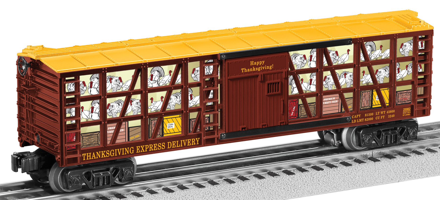 6-25962 THANKSGIVING POULTRY CAR