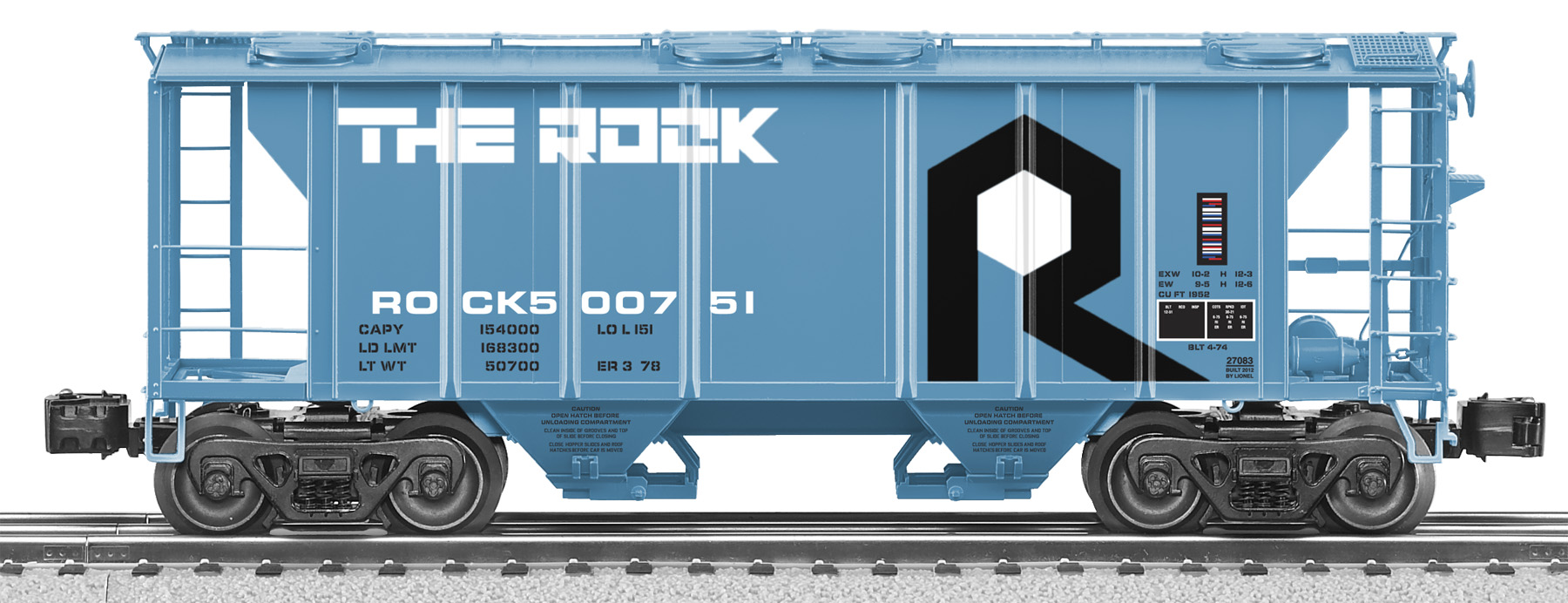 6-27083 ROCK ISLAND SCALE PS-2 HOPPER #500751