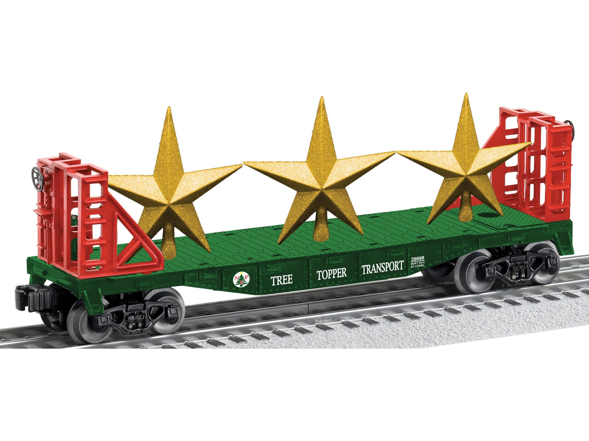 6-29698 TREE TOPPER STAR TRANSPORT CAR