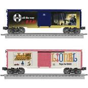 6-29965 LIONEL ART BOXCAR 2-PACK