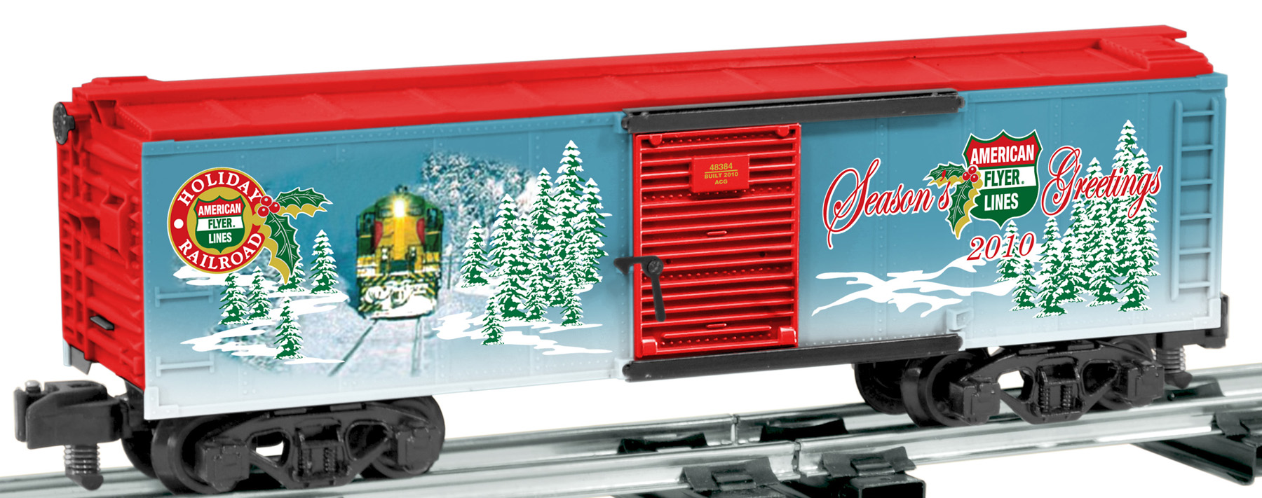 American Flyer 2010 Holiday Boxcar