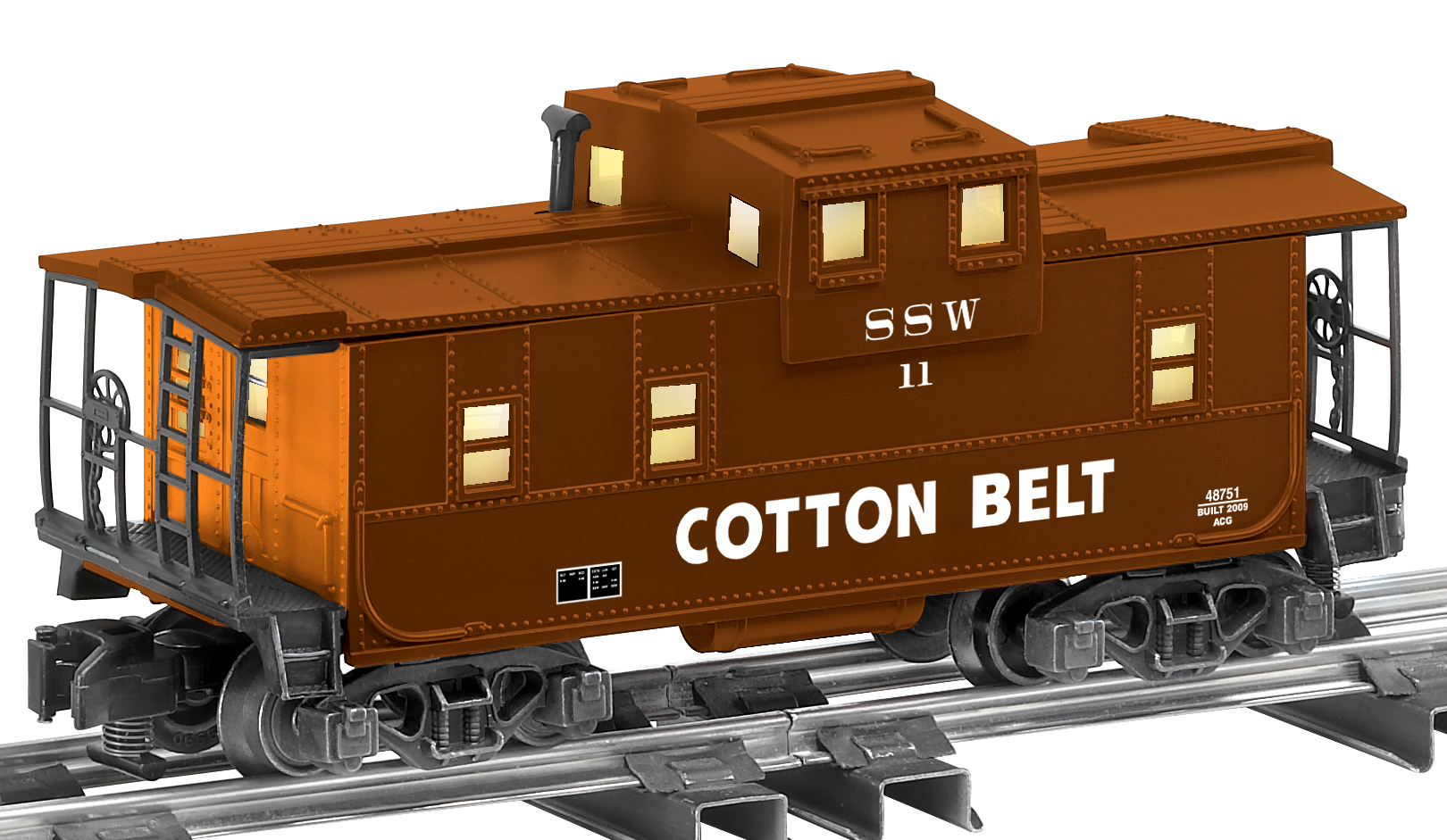 6-48751 COTTON BELT EXTENDED VISION CABOOSE