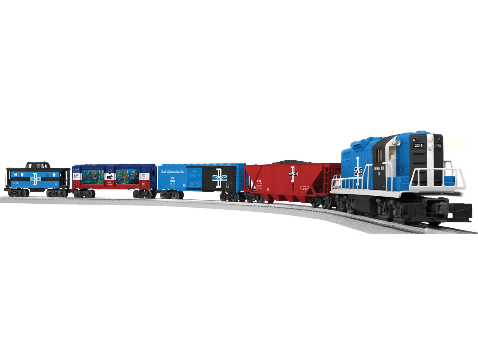 6-81021 BOSTON & MAINE PAUL REVERE GP9 SET (CONV. GP9 #2346)