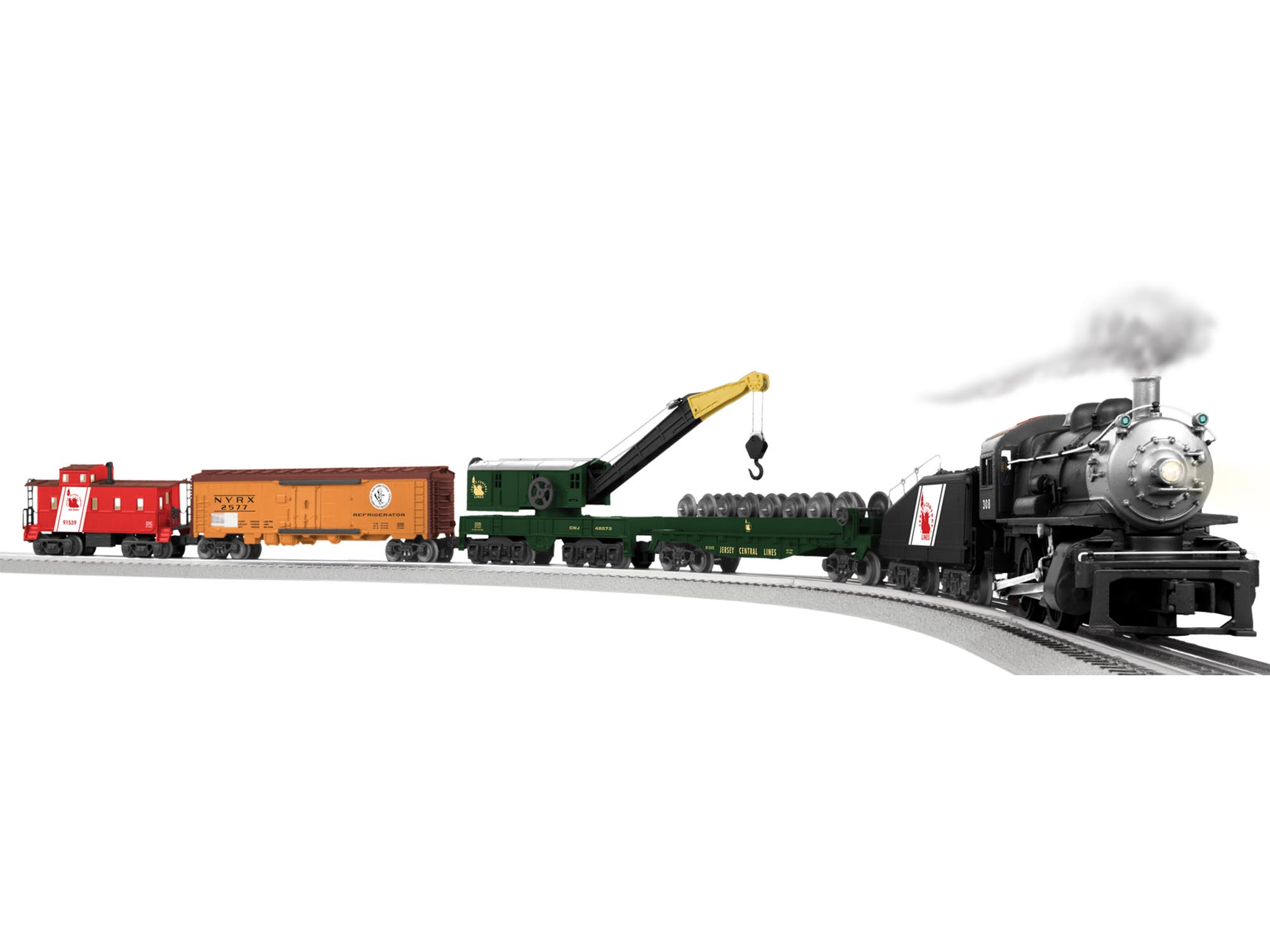 6-81023 JERSEY CENTRAL YARD BOSS 0-4-0 SET