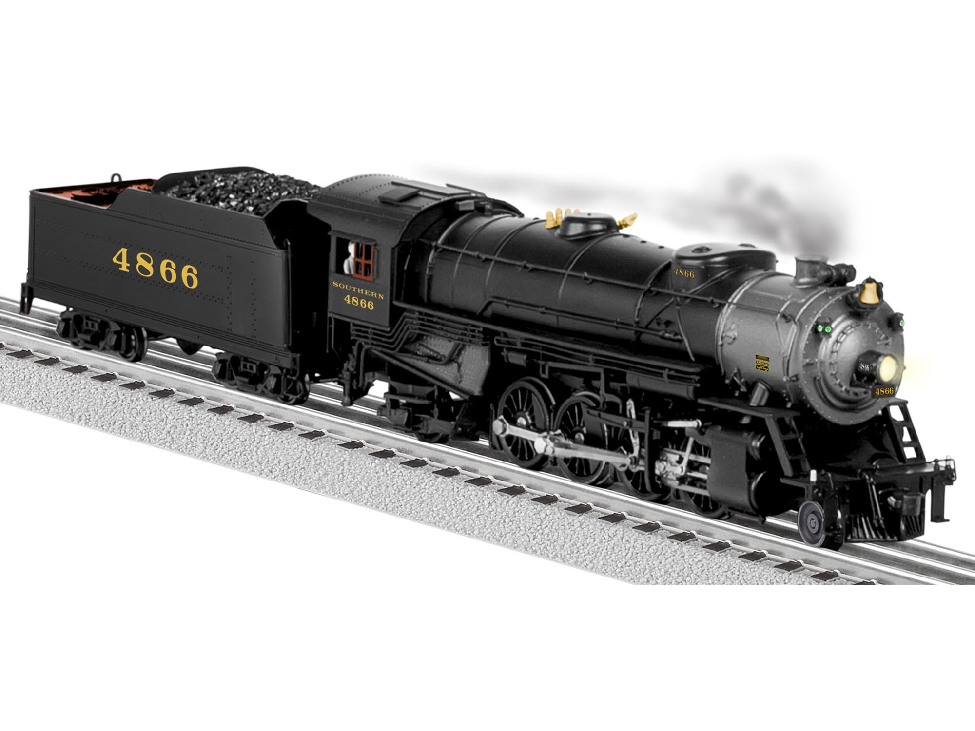 6-81181 SOUTHERN LEGACY MIKADO 2-8-2 STEAM LOCOMOTIVE #4866