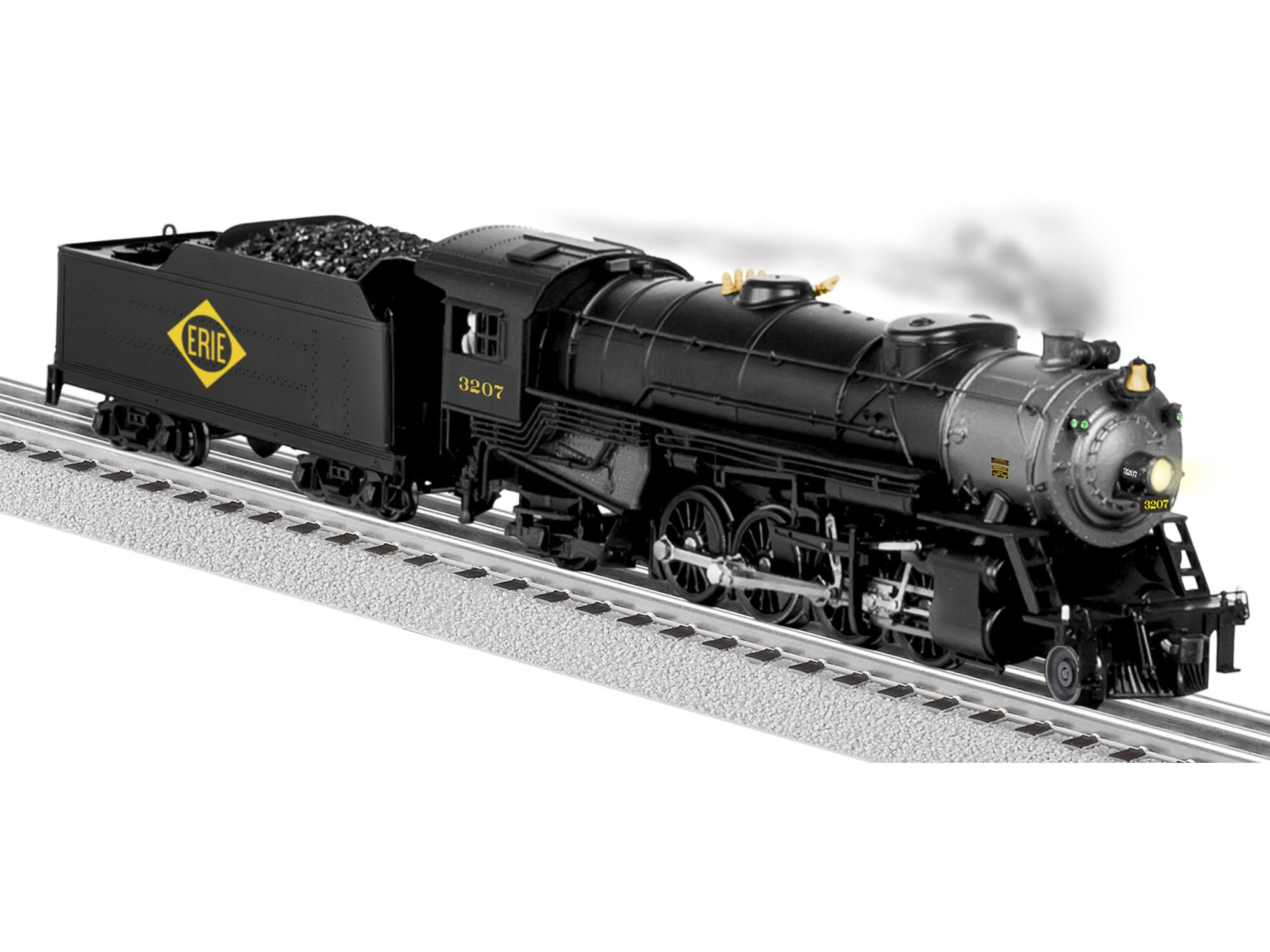 6-81191 ERIE LEGACY MIKADO 2-8-2 STEAM LOCOMOTIVE #3207