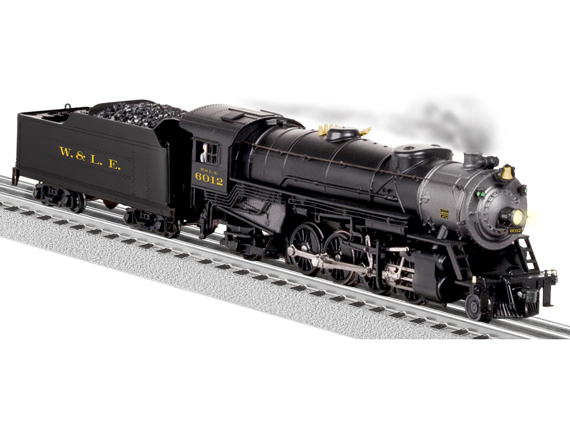 6-81193 WHEELING & LAKE ERIE LEGACY MIKADO 2-8-2 STEAM LOCO