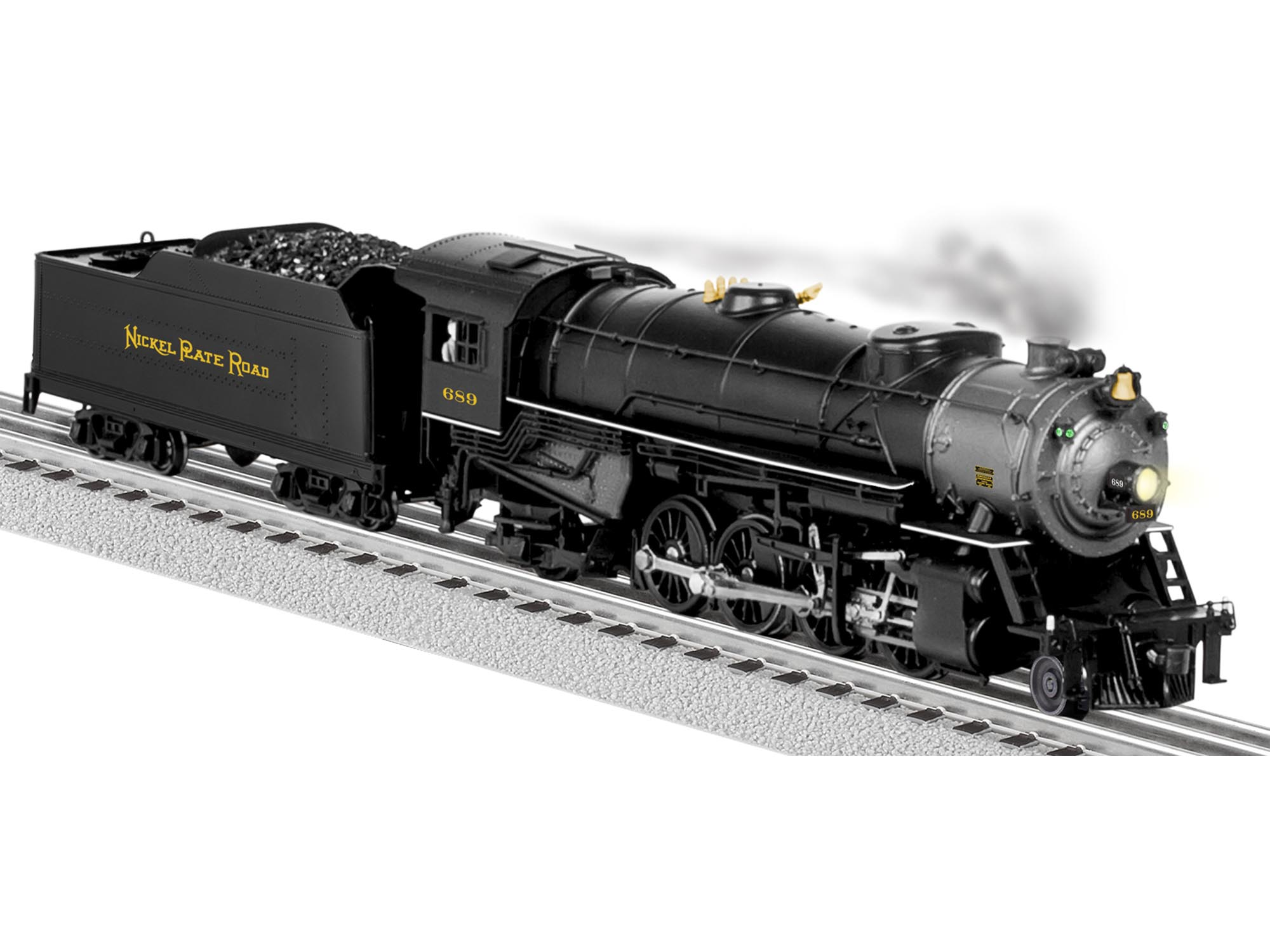6-81194 NICKEL PLATE ROAD LEGACY MIKADO 2-8-2 STEAM LOCOMOTIVE